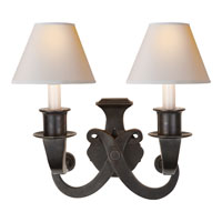 Visual Comfort SP2000BZ-NP J. Randall Powers Savoy 2 Light 16 inch Bronze Decorative Wall Light