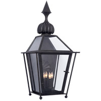 Visual Comfort Studio Audley 4 Light Outdoor Wall Lantern in Blackened Copper SP2071BC