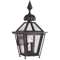J. Randall Powers Audley 2 Light 19 inch Blackened Copper Outdoor Wall Lantern