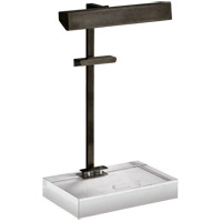 J. Randall Powers Mcclean 20 inch 40 watt Bronze Easel Light Portable Light, J. Randall Powers
