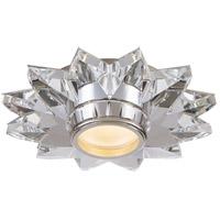 Visual Comfort SP4900CG J. Randall Powers Elora 1 Light 7 inch Crystal Solitaire Flush Mount Ceiling Light
