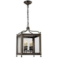Visual Comfort SP5001BZ J. Randall Powers Greggory 4 Light 12 inch Bronze Foyer Pendant Ceiling Light