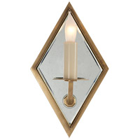Visual Comfort SR2006HAB John Rosselli Jenna 1 Light 6 inch Hand-Rubbed Antique Brass Decorative Wall Light