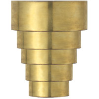 Visual Comfort SR2011HAB John Rosselli Micah 1 Light 6 inch Hand-Rubbed Antique Brass Decorative Wall Light