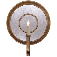 Visual Comfort Studio Lucy 1 Light Decorative Wall Light in Hand-Rubbed Antique Brass SR2013HAB