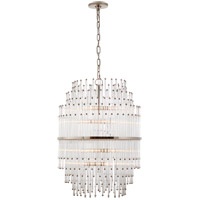 Visual Comfort SR5114PN-CG John Rosselli Mia 12 Light 21 inch Polished Nickel Chandelier Ceiling Light