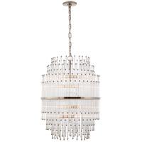 Visual Comfort SR5114PN-CG John Rosselli Mia 12 Light 21 inch Polished Nickel Chandelier Ceiling Light