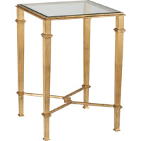 Visual Comfort Studio John Rosselli Roger Table in Gilded Iron SRF205GI
