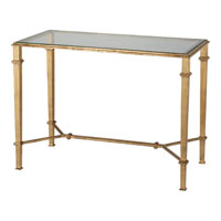 Visual Comfort Studio John Rosselli Roger Rectangle Table in Gilded Iron SRF206GI