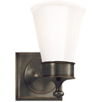 Visual Comfort SS2001BZ-WG Studio Siena 1 Light 5 inch Bronze Bath Wall Light