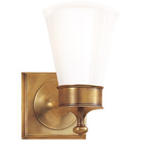Visual Comfort SS2001HAB-WG Studio Siena 1 Light 5 inch Hand-Rubbed Antique Brass Bath Wall Light photo thumbnail