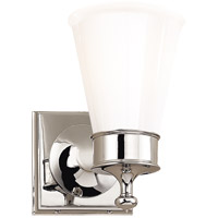 Visual Comfort SS2001PN-WG Studio Siena 1 Light 5 inch Polished Nickel Bath Wall Light
