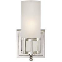 Studio Openwork 1 Light 5 inch Polished Nickel Bath Wall Light