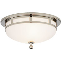 Visual Comfort SS4010PN-FG Studio Openwork 2 Light 10 inch Polished Nickel Flush Mount Ceiling Light