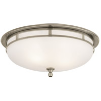 Visual Comfort SS4011AN-FG Studio Openwork 2 Light 14 inch Antique Nickel Flush Mount Ceiling Light