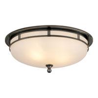 Visual Comfort SS4011BZ-FG Studio Openwork 2 Light 14 inch Bronze Flush Mount Ceiling Light