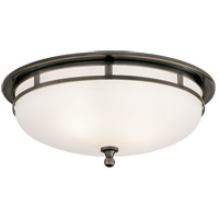 Visual Comfort SS4011BZ-FG Studio Openwork 2 Light 14 inch Bronze Flush Mount Ceiling Light