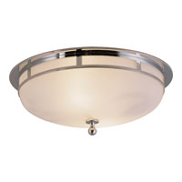 Visual Comfort Studio Openwork 2 Light Flush Mount in Chrome SS4011CH-FG