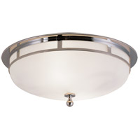 Visual Comfort SS4011CH-FG Studio Openwork 2 Light 14 inch Chrome Flush Mount Ceiling Light