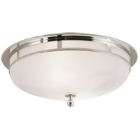 Visual Comfort SS4011PN-FG Studio Openwork 2 Light 14 inch Polished Nickel Flush Mount Ceiling Light