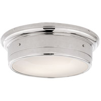 Visual Comfort SS4016PN-WG Studio Siena 2 Light 14 inch Polished Nickel Flush Mount Ceiling Light