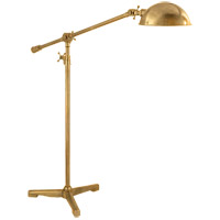 Visual Comfort Thomas OBrien Studio 44 inch 75 watt Hand-Rubbed Antique Brass Task Floor Lamp Portable Light TOB1015HAB - Open Box