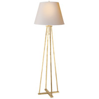 Visual Comfort TOB1155GI-NP Thomas Obrien Hannah 73 inch 75 watt Gilded Iron Decorative Floor Lamp Portable Light