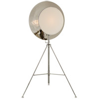 Thomas OBrien Osiris 75 inch 75 watt Polished Nickel Studio Floor Lamp Portable Light, Tripod Reflector