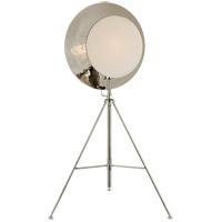 Visual Comfort TOB1292PN-L Thomas OBrien Osiris 75 inch 75 watt Polished Nickel Studio Floor Lamp Portable Light Tripod Reflector