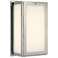 Visual Comfort Thomas OBrien Mercer 1 Light Bath Wall Light in Polished Nickel TOB2003PN