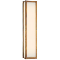 Visual Comfort Thomas OBrien Mercer 3 Light Bath Wall Light in Hand-Rubbed Antique Brass TOB2005HAB