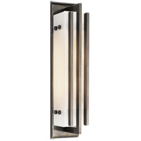 Thomas OBrien Ted 2 Light 4 inch Bronze Bath Wall Light