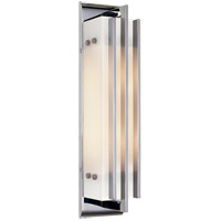 Visual Comfort Thomas OBrien Ted 2 Light Bath Wall Light in Chrome TOB2006CH