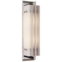 Visual Comfort Thomas OBrien Ted 2 Light Bath Wall Light in Polished Nickel TOB2006PN