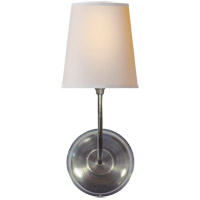 Visual Comfort TOB2007AS-NP Thomas O'Brien Vendome 1 Light 6 inch Antique Silver Decorative Wall Light photo thumbnail