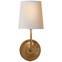 Visual Comfort TOB2007HAB-NP Thomas O'Brien Vendome 1 Light 6 inch Hand-Rubbed Antique Brass Decorative Wall Light