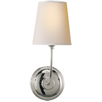 Visual Comfort TOB2007PN-NP Thomas O'Brien Vendome 1 Light 6 inch Polished Nickel Decorative Wall Light photo thumbnail