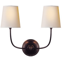 Visual Comfort TOB2008BZ-NP Thomas Obrien Vendome 2 Light 18 inch Bronze Decorative Wall Light