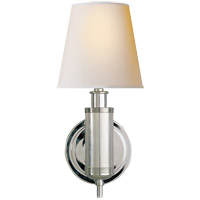 Visual Comfort TOB2010PN-NP Thomas O'Brien Longacre 1 Light 6 inch Polished Nickel Decorative Wall Light photo thumbnail