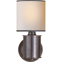 Visual Comfort Thomas OBrien Metropolitan 1 Light Bath Wall Light in Bronze with Wax TOB2011BZ-NP/BT