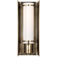 Visual Comfort Thomas OBrien Greenwich 1 Light Bath Wall Light in Antique Nickel TOB2016AN