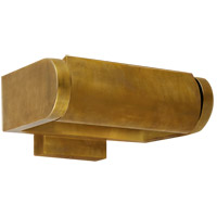Thomas OBrien David 40 watt 7 inch Hand-Rubbed Antique Brass Picture Light Wall Light