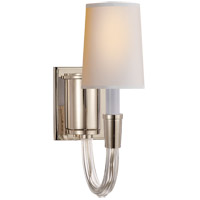 Thomas OBrien Vivian 1 Light 4 inch Polished Nickel Decorative Wall Light