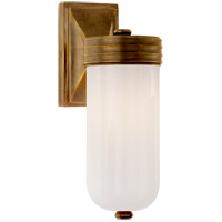Visual Comfort TOB2050HAB-WG Thomas OBrien Dara 1 Light 4 inch Hand-Rubbed Antique Brass Bath Wall Light