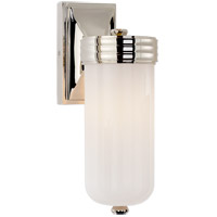 Visual Comfort TOB2050PN-WG Thomas O'Brien Dara 1 Light 4 inch Polished Nickel Bath Wall Light photo thumbnail
