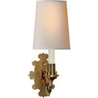 Visual Comfort TOB2070HAB-NP Thomas OBrien Leyland 1 Light 6 inch Hand-Rubbed Antique Brass Decorative Wall Light