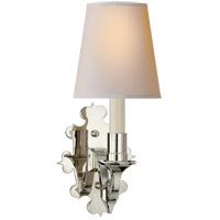 Visual Comfort TOB2070PN-NP Thomas Obrien Leyland 1 Light 6 inch Polished Nickel Decorative Wall Light