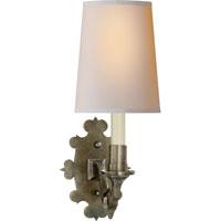 Visual Comfort TOB2070SN-NP Thomas OBrien Leyland 1 Light 6 inch Sheffield Nickel Decorative Wall Light