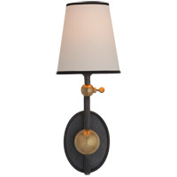 Visual Comfort TOB2081BZ/HAB-NP/BT Thomas Obrien Alton 1 Light 6 inch Bronze with Antique Brass Accents Decorative Wall Light