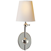 Visual Comfort TOB2081PN-NP Thomas O'Brien Alton 1 Light 6 inch Polished Nickel Decorative Wall Light